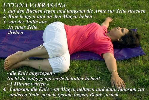 Yogaübung Uttana Vakrasana