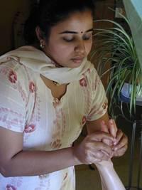 Ayurveda Fussmassage Padabhyanga