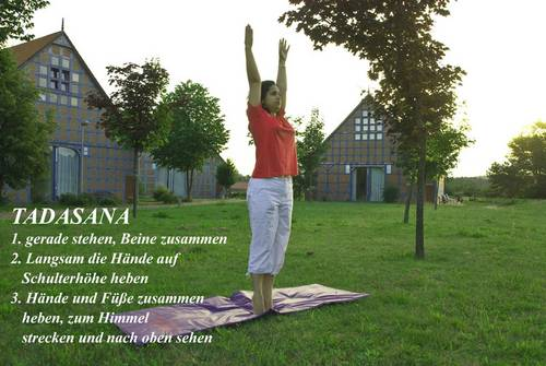 Yogaübung Tadasana