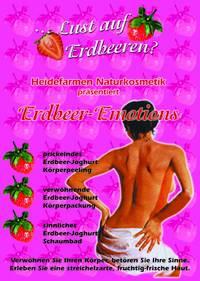 Erdbeersamen Joghurt Körperpeeling
