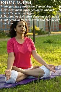 Yoga Übungen im Ayurveda Hotel