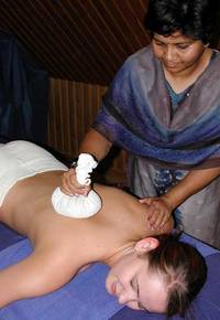 Herbal Stamp Massage