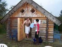 Sauna inklusive