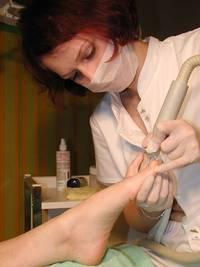kosmetische Fusspflege